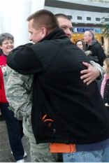 Guy hug